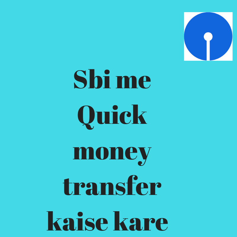 sbi quick money transfer